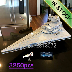 In Stock 05027 The Imperial Star Destroyer UCS Fighters 3250pcs Star Wars Model Building Blocks 10030 10908 05028 05130 81030