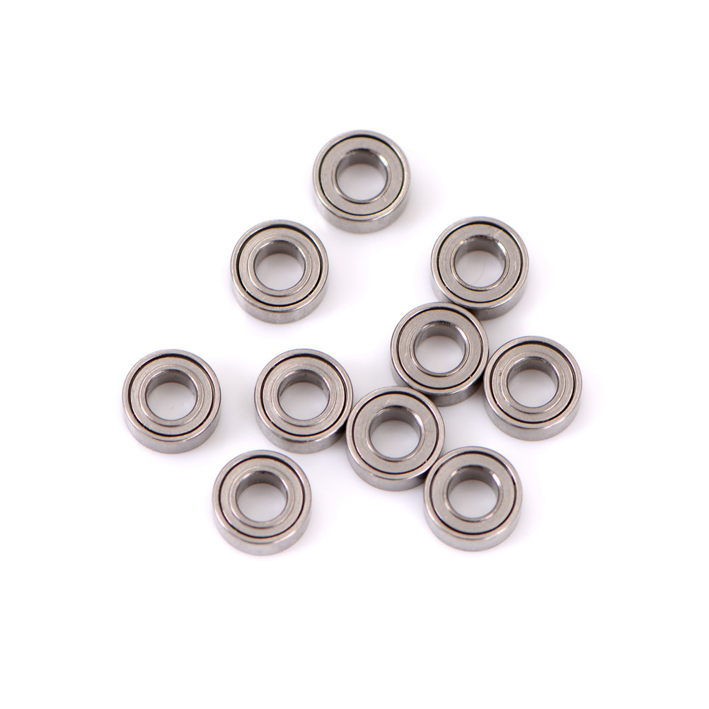 10Pcs/lot High Speed Seat Miniature Model <font><b>Bearing</b></font> Steel Shafts MR63ZZ <font><b>3x6x2.5mm</b></font> Mini Steel Roller <font><b>Bearings</b></font> Wholesale image