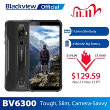 BLACKVIEW BV6300 3GB+32GB Smartphone 4380mAh Android 10 Mobile Phone 5.7 inch HD Screen NFC IP68 Waterproof Slim Rugged Phone