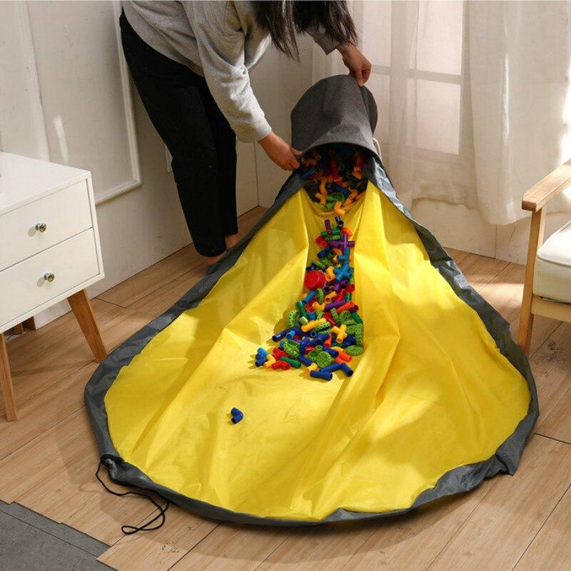 Fëmijët e rinj të palosshëm portabël luajnë lodër pastrimi dhe - Lodra për bebe - Foto 5