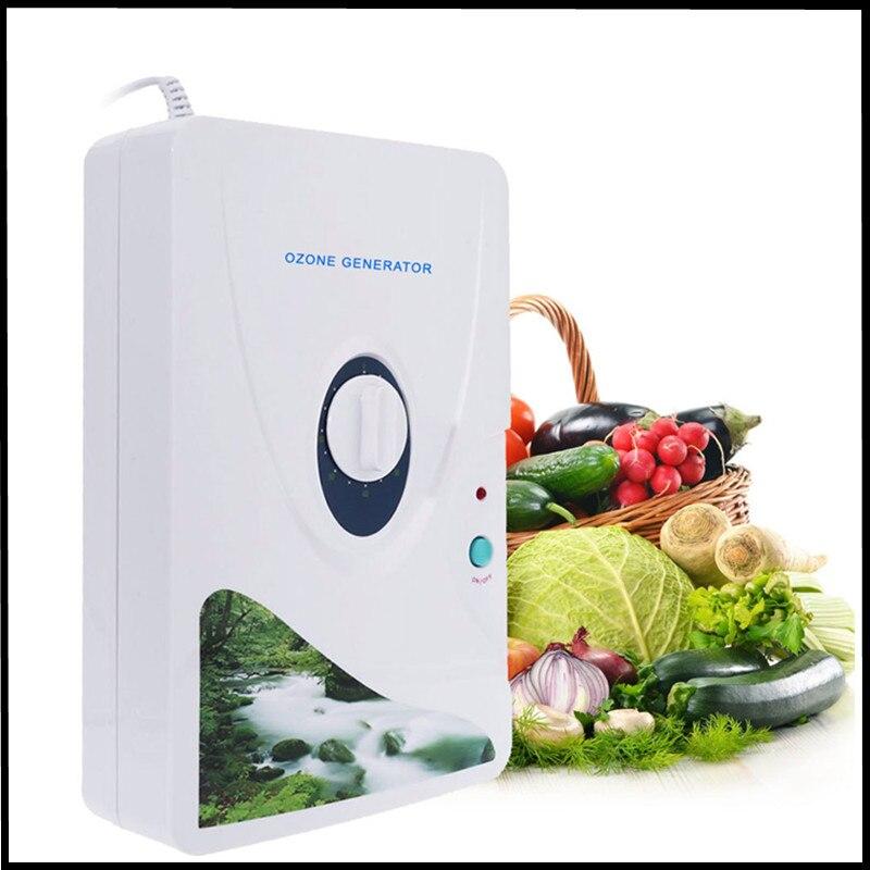 Oczyszczacz powietrza sterylizator Generator ozonu dezodoryzacja owoce warzywa sterylizator maszyna do detoksykacji gospodarstwa domowego gospodarstwa domowego