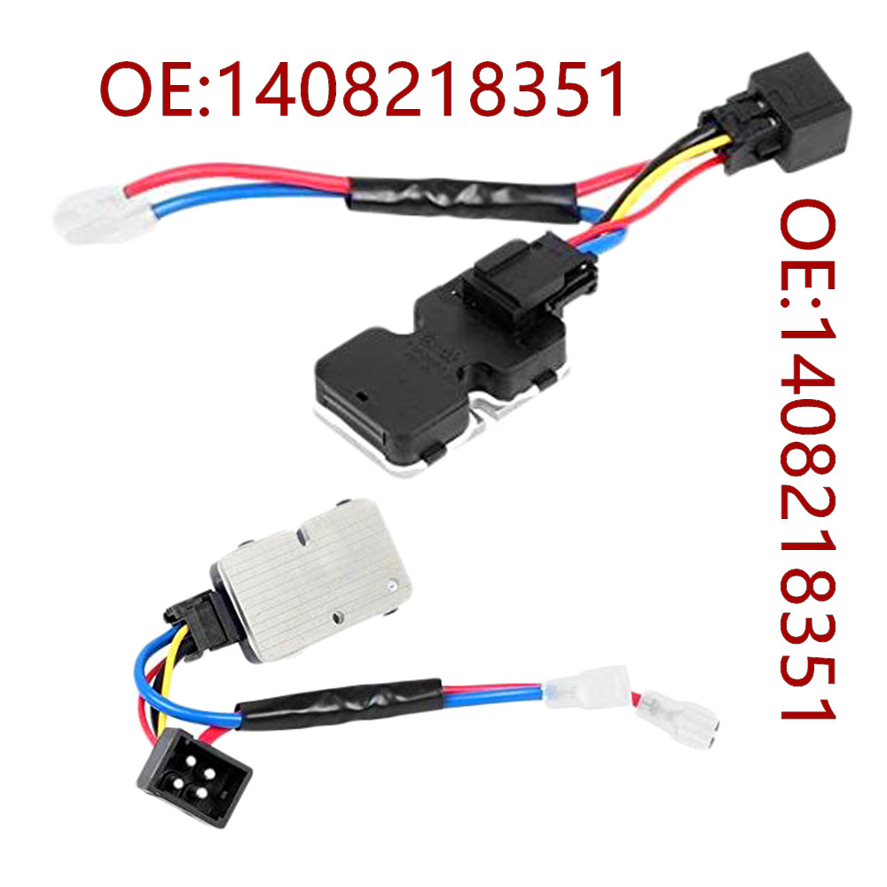 AC Blower Heater Fan Motor Resistor Regulator 1408218351 For <font><b>MERCEDES</b></font>-BENZ S-Class <font><b>W140</b></font> S320 S420 <font><b>S500</b></font> S600 image