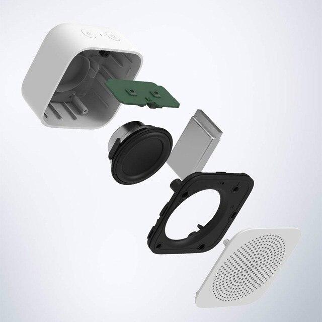 Original xiaomi mijia controle de ia alto-falante bluetooth sem fio portátil mini alto-falante bluetooth estéreo baixo com microfone chamada qualidade hd 3