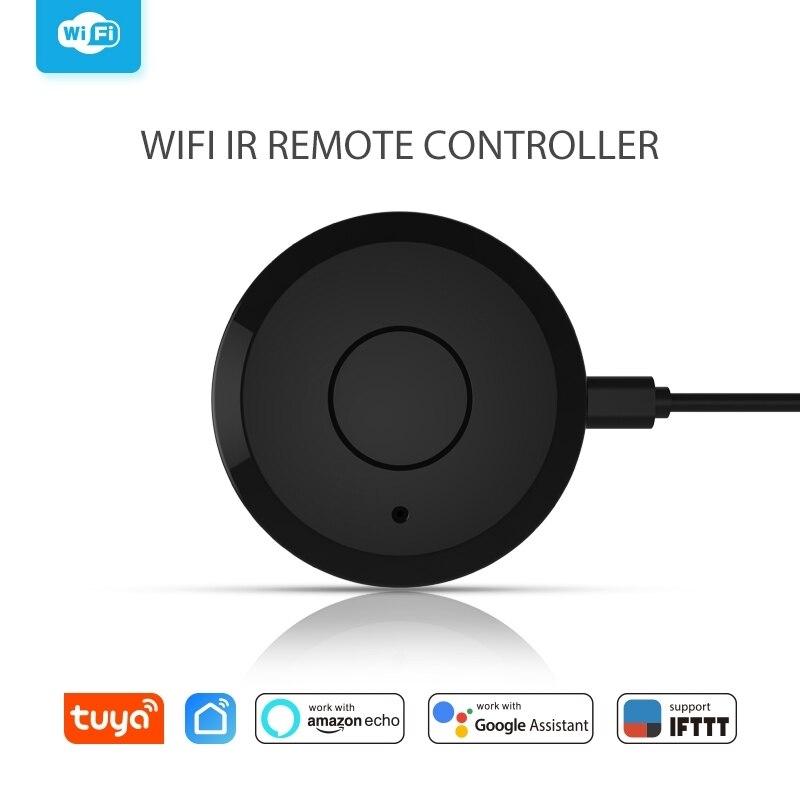 WiFi IR Controle Remoto Universal Hub Casa Inteligente Controle de Voz Para Alexa Inicial do Google Um por Todos Infrare Controle Remoto Wi-fi controlador