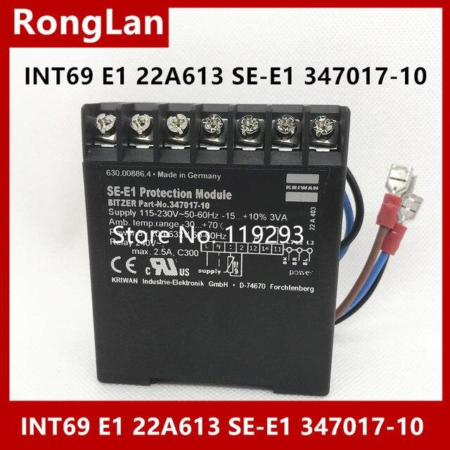 [BELLA] alman orijinal KRIWAN motor özel koruma modülü INT69 E1 22A613 SE E1 347017 10 Bizel özel