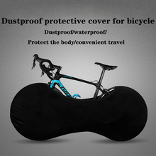 Bicycle dustproof protective cover mountain bike road wheel hub cover all black universal bicycle bodysuit