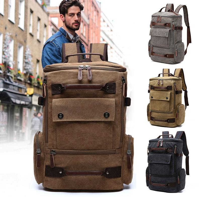 Computer Bag Current Package Wild Accessories Laptop Backpack Canvas Shockproof Backpack Storage Shopping Outdoor Unisex Travel