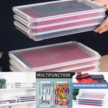 Przezroczysty schowek na dokumenty pojemnik na dokumenty papierowe materiały biurowe FKU66 tanie i dobre opinie Plik skrzynka Z tworzywa sztucznego