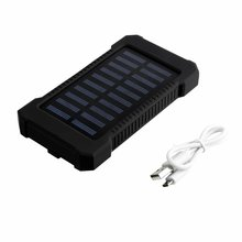 Waterproof 8000Mah Portable Solar Charger Dual Usb Battery Power Bank Rt Phone Dual USB Port Compatibility стоимость