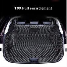 Для faw bestune t99 2019 2020 автомобильный коврик для багажника