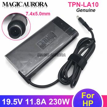Oryginalny HP 19 5V 11 8A PA-1231-08HT ładowarka sieciowa dla HP 924942-001 L38011-003 TPN-DA12 TPN-LA10 zasilacz laptopa tanie i dobre opinie MAGIC AURORA CN (pochodzenie) 19 5 v US EU UK AU 230W 7 4 x 5 0mm(1 Pin in center) 650g Original Genuine 2 years