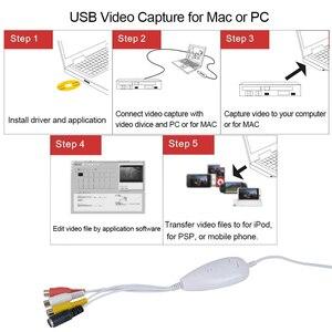 Image 5 - Nâng Cấp Hình USB Card Bắt Analog Video Âm Thanh Định Dạng Kỹ Thuật Số Cho Windows 7 8 10 & Mac OS,win10 8 Mm Video Băng Cassette