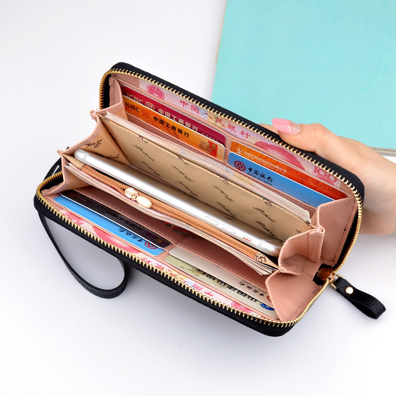 Wallet Korean Fashion Women's Wallet Long walet for women phone vallet Purse Teen Girl Carteira Feminina Card Wallet Female