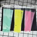 100 шт. 6*20 см длинное прозрачное самоклеящееся Уплотнение OPP DIY Подарочные и конфетные упаковочные мешки для печенья печенье