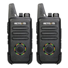 2pcs RETEVIS RT22S Handsfree Walkie Talkie 3W RT22 Upgrade VOX Hidden Display Two Way Radio Transceiver