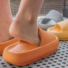 Shoes House Slippers Sandal Thick-Bottom Fish-Mouth Platform Fashion Women Weh Men Summer