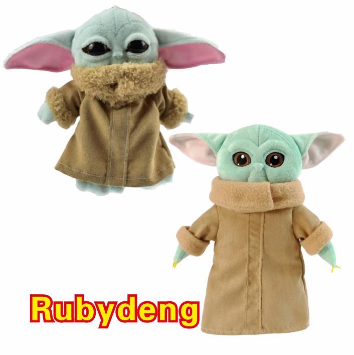 2020 New Arrival 30cm Baby Yoda Stuffed Soft Plush Toy Animals Stuffed Doll For Children Baby Birthday Gift