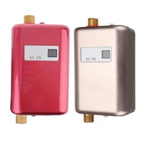 Image 1 - Mini Tankless MÀN HÌNH Kỹ Thuật Số LCD Máy Nước Nóng Tức Thì Nóng Vòi bếp Nóng Bình Giữ Nhiệt HOA KỲ Cắm Thông Minh Năng Lượng tiết kiệm Chống Thấm Nước