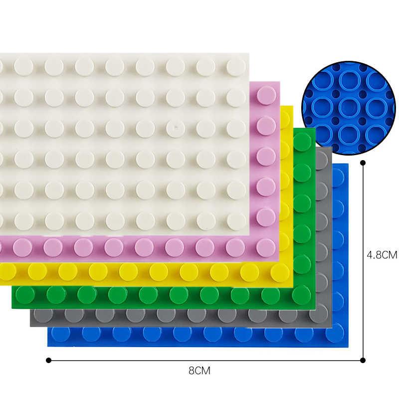 6*10 kunststoff Montage Blöcke Basis Platten Figuren Stadt Klassische Spielzeug Bausteine Baseplates Spielzeug für Kinder Geschenk Zubehör