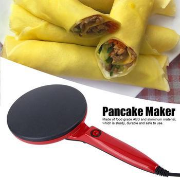 Electric Crepe Maker Pizza Pancake Machine Non-Stick Griddle Baking Pan Cake Machine Kitchen Appliances 600W