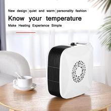 Портативный мини-электрический обогреватель с вилкой США, теплый домашний маленький Электрический обогреватель для зимы, для внутреннего отопления, кемпинга