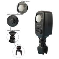Angeln Infrarot Sensor Alarm Sound Alarm Wireless Motion Detektor Beißen Alarme Karpfen Angeln Alarm Für Angeln Camping Jagd-in Angelutensilien aus Sport und Unterhaltung bei