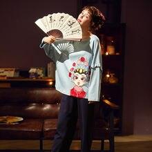 Новинка 2020 Женский пижамный комплект хлопковая домашняя одежда