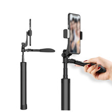 3 In 1 Wireless Tripod Bluetooth Selfie Stick Foldable With Remote Control Tripod Selfie For IPhone 6 7 8 Huawei Samsung Android(China)