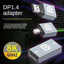 Mini DP to HDMI-совместимый адаптер 1080P Mini Displayport to HDMI-совместимый конвертер M-F для MacBook Mac Pro Air проектор