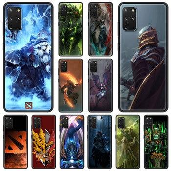 Dota 2 Game Phone Case For Samsung Galaxy S20 FE S10 Plus Lite S21 Ultra S8 S9 Plus S10e S7 Edge Black Shell Cover 1