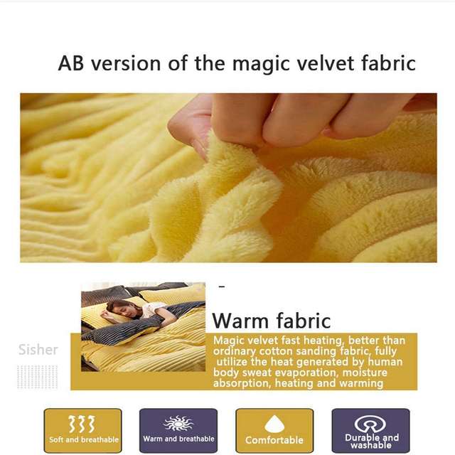 Textured Plush Comforter 5