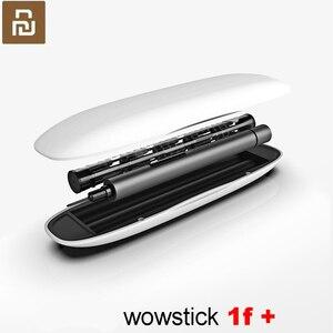 Image 1 - Original Youpin Wowstick 1f + Home essentiel électrique tournevis lumière LED en Aluminium corps téléphone bricolage réparation outils de bureau jouet