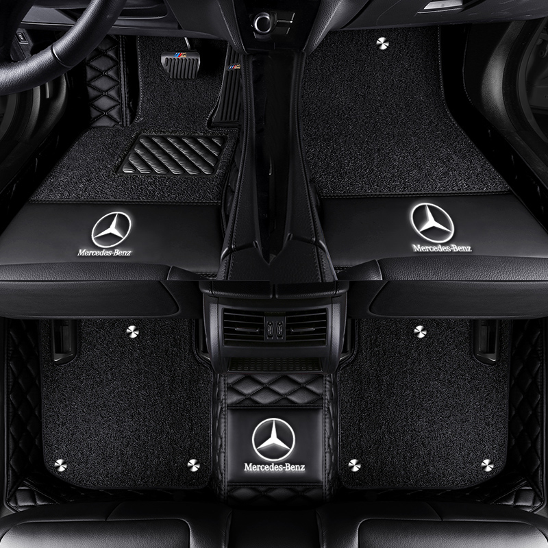 Car Floor Mat For <font><b>mercedes</b></font> <font><b>B</b></font> class W245 W246 <font><b>180</b></font> 170 160 200 220 260 Accessorie Floor Mat carpets image