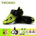 Tiebao sapata ciclismo das mulheres dos homens sapatos de ciclismo pedais estrada SPD-SL zapatillas deportivas hombre superstar tênis ao ar livre