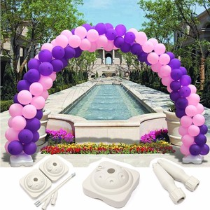Balloon Arch Stand Base Pot Kit Clip Connector Birthday Balloons Accessories Wedding&Party Celebration Decoration Party Supplies