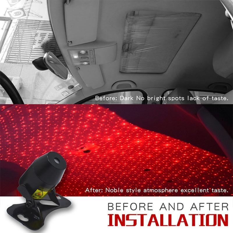Car USB Remote Control Starlight Atmosphere Light For BMW G01 F20 G30 F30 F31 E36 E39 E87 E60 E46 E91 X1 X3 X5 E53 Car Decorate