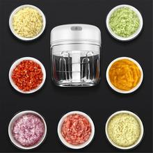 Meat Grinder Mini Chopper Garlic Crusher Meat Grinder Electric Chopper Garlic Chopper USB Charging For Crushed Garlic Ginger