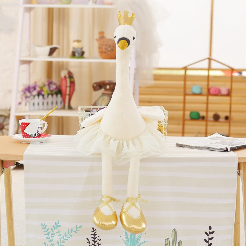 Mini Swan Plush Toy Lovely Flamingo Doll Stuffed Soft Animals Girls Doll Soft  Baby Appease Toy Birthday Gifts Present Cute