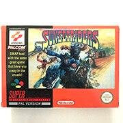 Sunset Riders with box 16bit  game cartridge EU Version