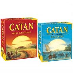 Оригинальный 5-й выпуск Catan/5-6 плеер расширение/Seafarers расширение/Seafarer 5-6 игрок/шахматы настольные игры игра