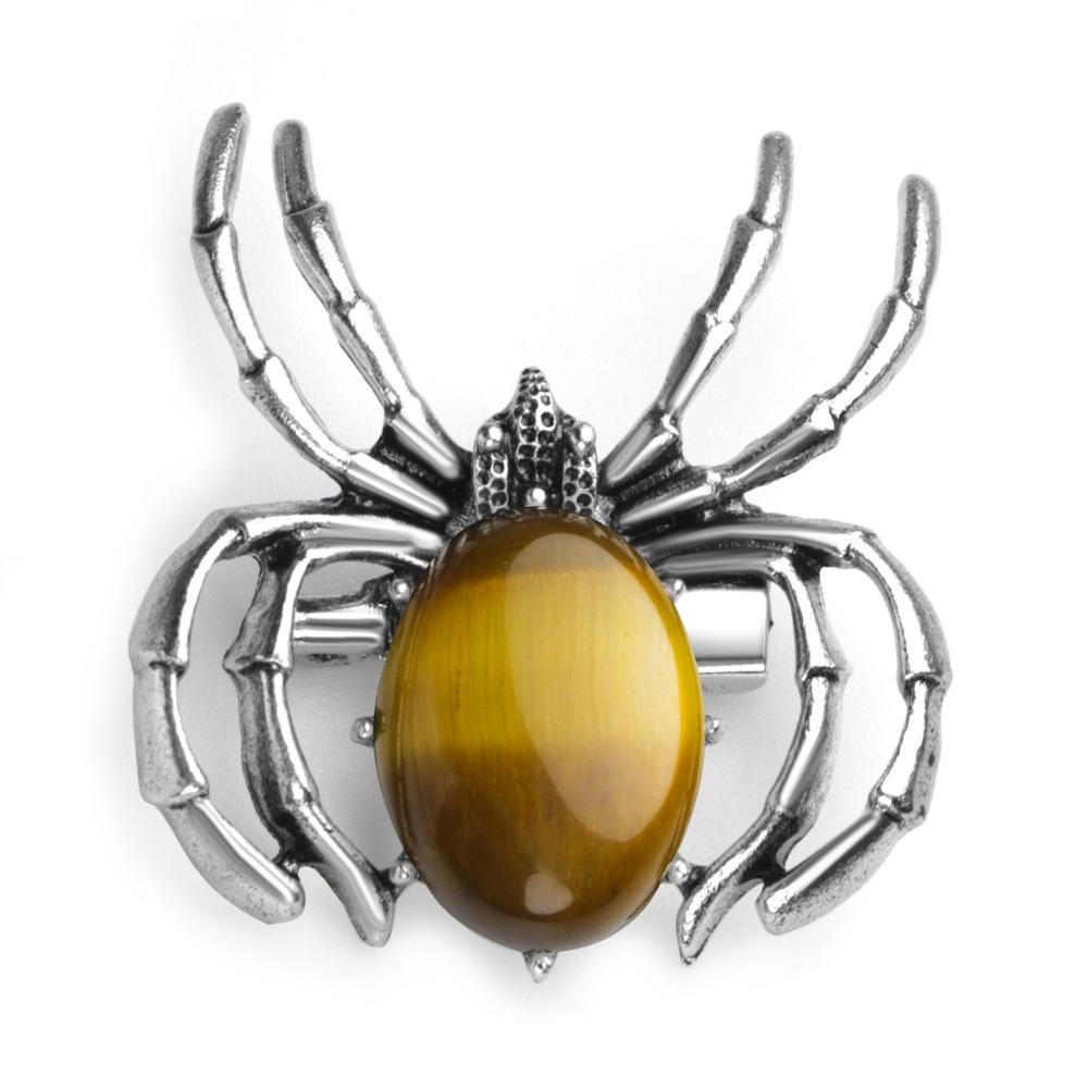 Women's Spider Pendant Necklace Healing Crystal Pendant Balance 7 Chakra Stone Jewelry Jewelry