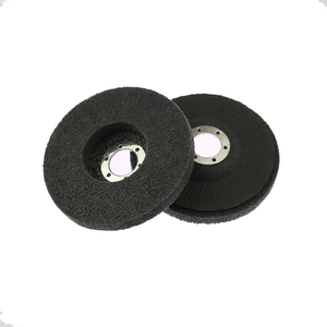 Image 2 - 10 pieces 125/100mm Nylon Grinding Disc 7P 180# Flap Wheel for Metal Finish Wood Polishing on Angle Grinder