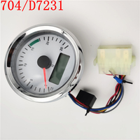 FREE SHIPPING 704/D7231 704/50097 Tachometer Gauge for JCB Backhoe Loader 3CX 4CX|Fuel Injector|   -