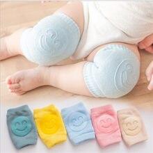Crianças não deslizamento rastejando cotovelo infantil crianças acessórios do bebê sorriso joelho almofadas protetor de segurança joelheira perna mais quente meninas meninos