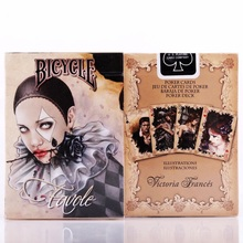 1pcs Bicycle Favole Deck Magic Cards Playing Card Poker Close Up Stage Magic Tricks for Professional Magician Free Shipping bicycle tragic royalty playing cards original poker cards for magician collection card game