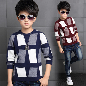 Image 1 - 2020 Fashion Boys Sweater Spring Winter Infant Boy Outerwear Cotton Sweater Kids Sweater Children Knitwear Sweater Brand Tops