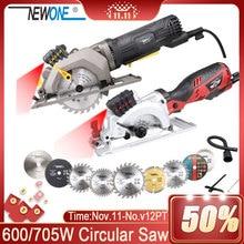 120V/230V 600W/705W électrique outil électrique Mini scie circulaire électrique avec Laser multi fonction scie pour couper le bois, PVC Tube, tuile