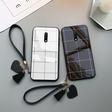 Cute Phone Case For One Plus 5 5T 7 Tempered Glass Love Hear