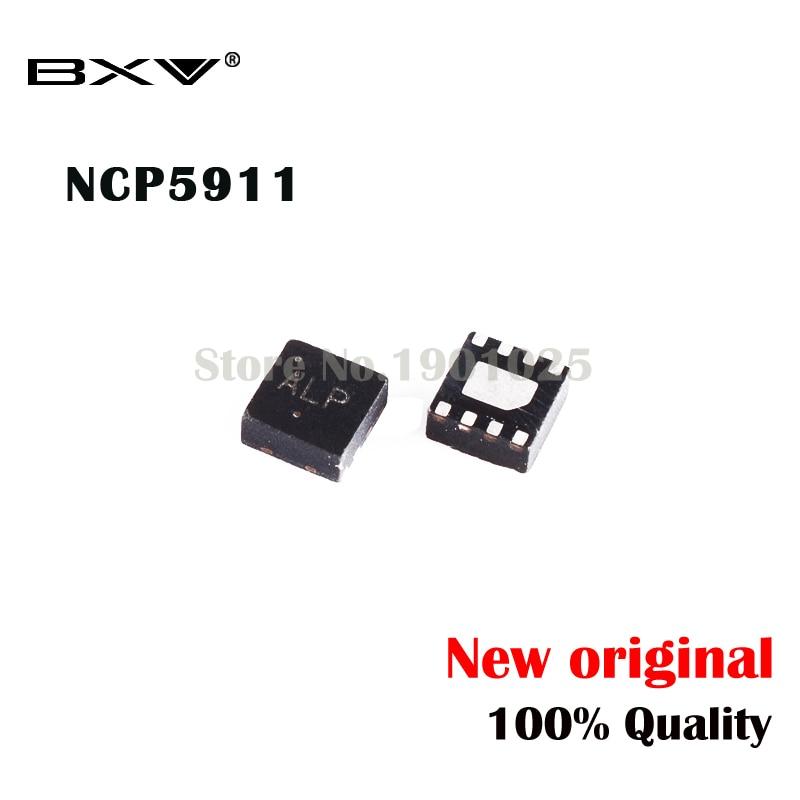 5pcs NCP5911MNTBG NCP5911 (AL1  ALK...) QFN-8 5911M New Original