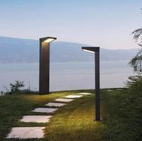 Solar lawn lamp outdoor waterproof courtyard lamp circular LED outdoor landscape villa garden ground lawn lamp